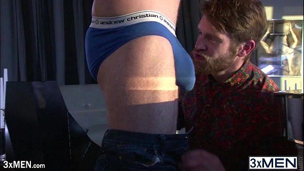 Two straight guy Colby Keller and Connor Maguire fucking each other ass