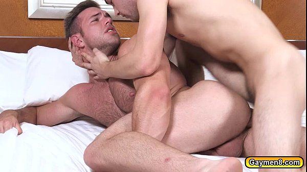 Johnny is fucking Alex hard in the anal