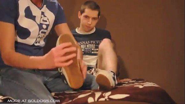 Football Boy Foot Worship