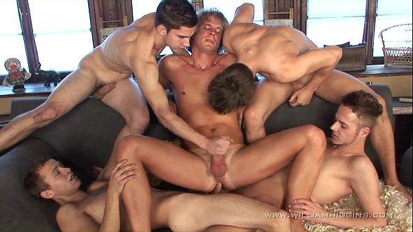 Gay Resort Wank Party #11part 1