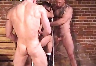 Pierced Bears Hot Threesome