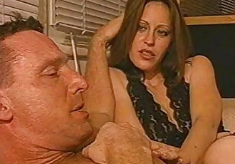 Hot husband fucks stud while ugly wife watches