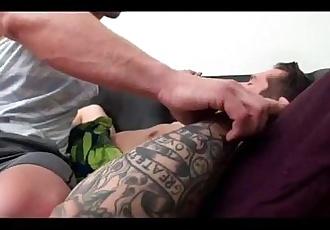 Schlafen Bemuskelt stud bekommt streichelte vor gefickt schwer in Arsch