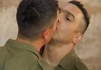 Army boys bareback