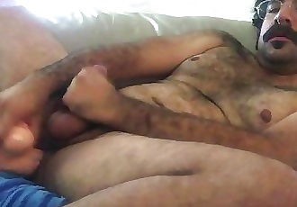 cumming with a fat dildo in my ass