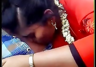 Tamil girl trying to lick and milk her boyfriend like he does on her 52 sec