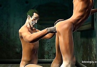 Robin experiences jokers hell first hand and gets fucked hard 1