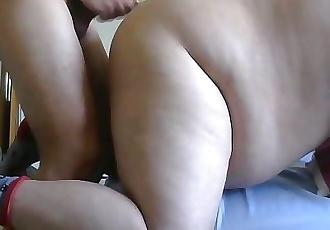 Chaser cock fucking hot chub bear ass doggy