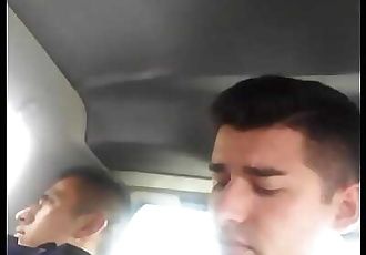 Bulto de hetero en transporte publico de Chalco 70 sec 720p