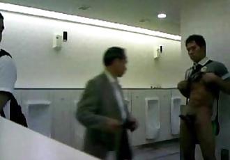 JAPANESE CUM IN TOILET