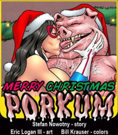 Merry Christmas Porkum