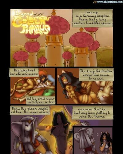Legend Of The Golden Phallus