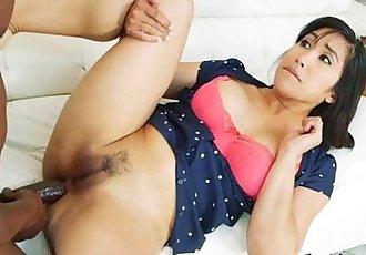 Asian Chick Mia Li Loves Anal Pounding From Plumber - 5 min