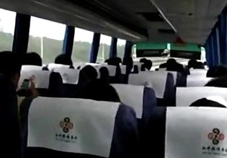 reality girl masturbation on bus in china road - 3 min