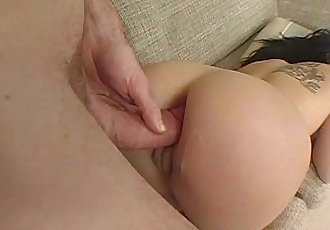 Rough fucked black raven gets her ass ravaged - 8 min
