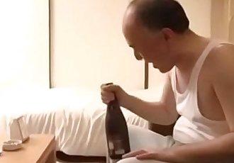 Old Man Fucks Hot Young Girl Next Door Neighbor-Japan Asian-Part4 - 5 min