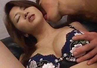 Yuki Touma has crack licked aroused with vibrators and screwed - 10 min