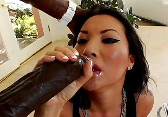 WCPClub Asa Akira taking a giant BBC in her ass - 14 min HD