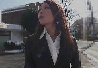 41Ticket - Rara Mizuki Offers Holes For Office Job - 5 min HD+