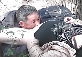 Asian old man fuck whore in wood 3 goo.gl/TzdUzu - 20 min
