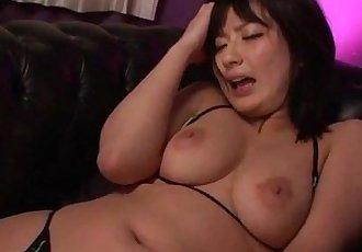 Erotic porn play along brunette Megumi Haruka - 12 min