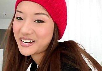 Bigcock loving asian teen facialized - 8 min HD