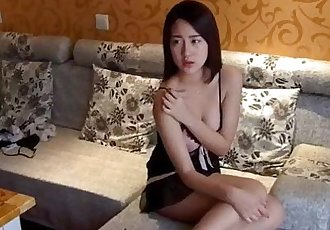 Asian couple making sweet love - 23 min