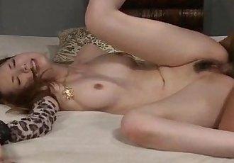 Mature Yui Hatano likes fucking with two hunks - 12 min