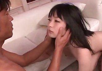 Hina Maeda swallows after a wild hardcore fuck - 12 min
