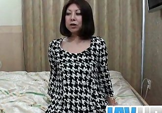 Sexy milf Junko hot titties hard fucking - 8 min