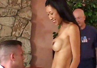 Mrs. Wang Interracial Asian Swinger - 25 min