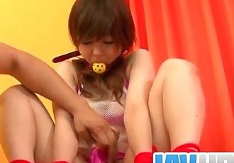 Miku AIri amazes in pure Asian bondage porn show - 12 min