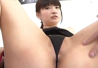 Akane Ozora enjoys Asian gangbang in hardcore - 12 min