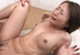Asian slut has a dick full of her pussy in the class room - 1 min 1 sec