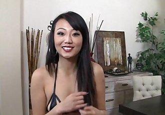 Miko Dai sucks penis tenderly and slurps milk - 6 min HD