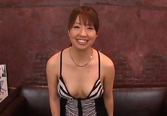 Rough gangbang for each of Buruma Aois wet holes - 12 min
