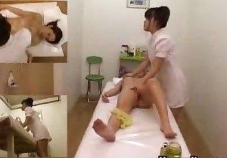 Asian Girl Fingered During A Massage - 22 min