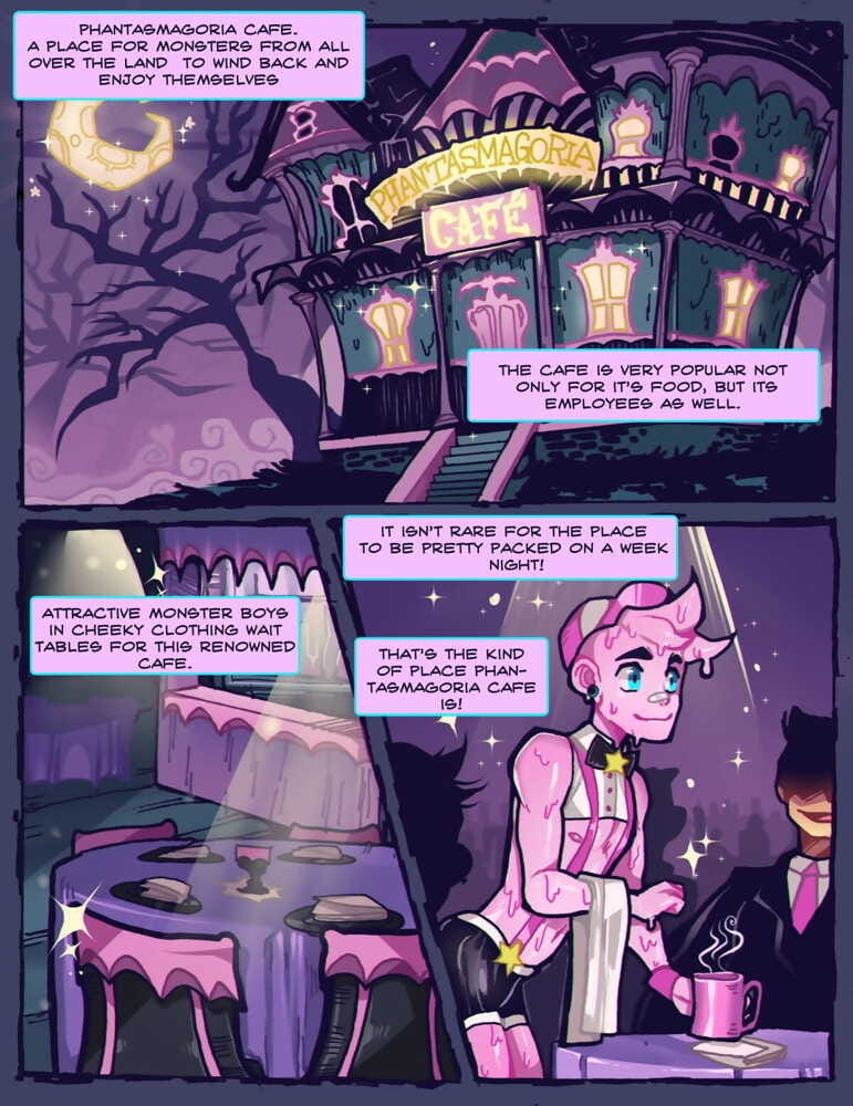 Phantasmagoria Cafe by Thornbeary