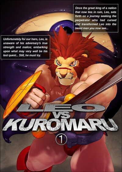 Kemotsubo Shintani LEO VS KUROMARU English