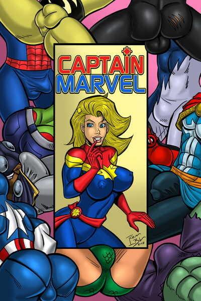 Iceman Blue Captain Marvel