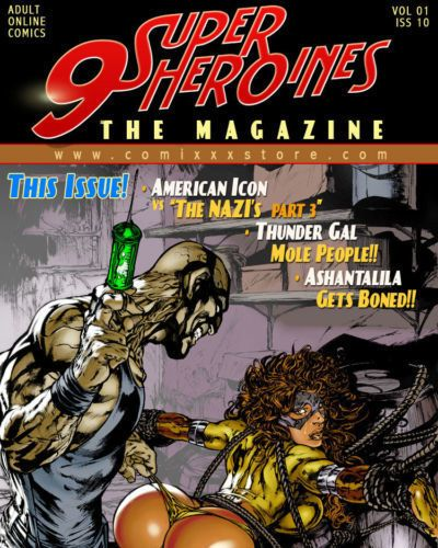 9 Superheroines - The Magazine #10