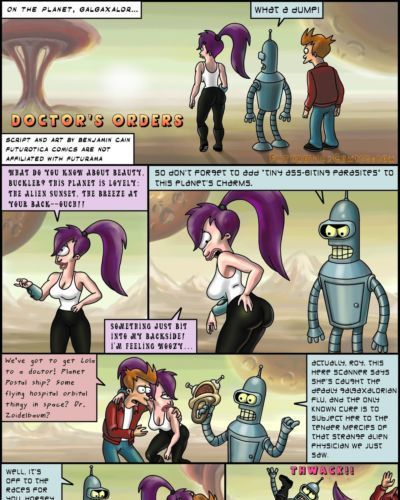 Futurotica Comics (Futurama and Star Trek Parodies)