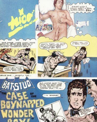 蝙蝠侠的色情漫画