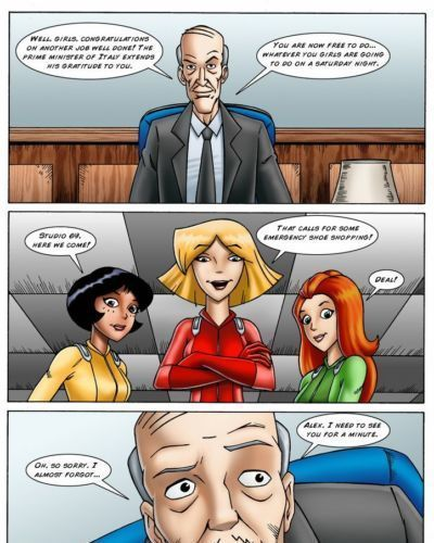 Drawn-Sex Totally Spies