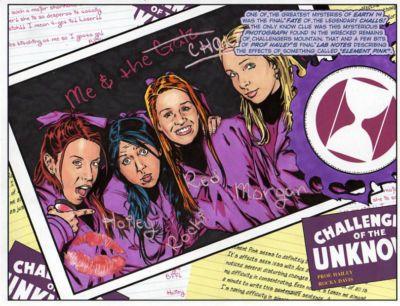 Tebra Artwork - DC Universe - part 2