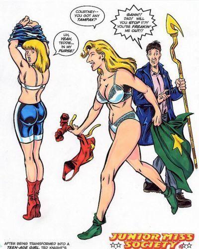 Tebra Artwork - DC Universe - part 7