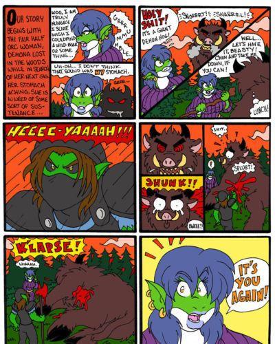 The Big Mansini Demona & Ludoc