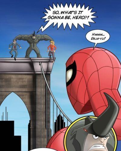 Spider man porn