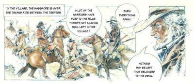 Sarah or The White Indian by Paulo Eleuteri Serpieri - part 5
