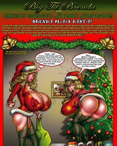 Smudge Big Tit Brenda - Brenda Plays Santa!